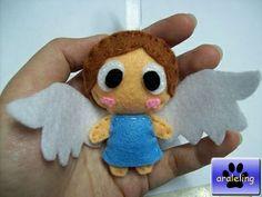 Felt Angel Ornament