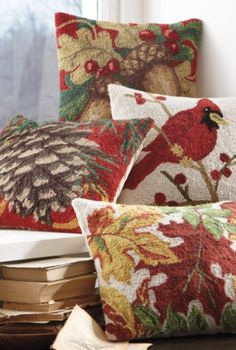 Nature Inspired Pillow Collection.