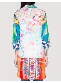 Johnny Was - Mix Print Kimono - Zambezee