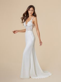 Moonlight Tango T841 Is The Perfect Mermaid Gown For Any Destination Wedding It S Elegant Silhouette