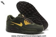 Nike Air Max 90 Mens Shoes HYP PRM KPU TPU 2014 New Hunter Green For Sale