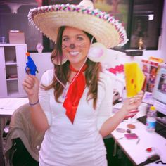 Love this as a Halloween costume - Speedy Gonzales