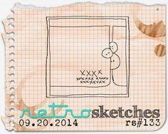 retro sketches : a challenge: retrosketches #133...