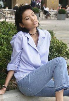 Blue+and+white+stripe+shirt+