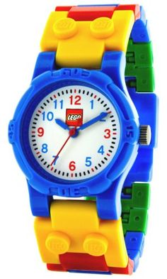 LEGO Kids' Make-N-Create Watch from www.amazon.com. Do we like this? OH YEAH!! #autism #aspergers