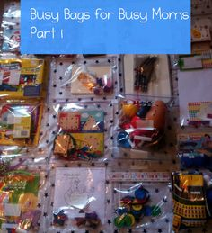 busy bags part 1