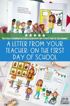 Are you looking for a new back to school read aloud to read during your first week back at school? A Letter From Your Teacher: On the First Day of School by Shannon Olsen is a great way to build positive relationships with your students and start building a solid classroom community. This is a great back to school writing activity to do during writers workshop. You can read the book during morning meeting and follow up with this fun hands-on activity for elementary students.
