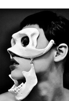 skeleton mask cool