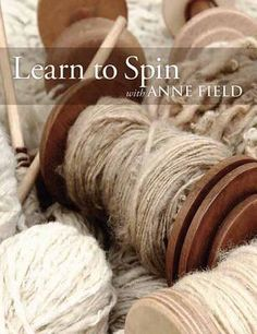Learn To Spin With Anne Field: Spinning Basics Spinning Wool, Hand Spinning, Spinning Wheels, Alpaca Wool, Wool Yarn, Yarn Crafts, Sewing Crafts, Loom Weaving, Tapestry Weaving