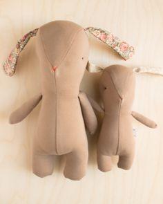 Des Mimi spéciales – Rousskine Softies, Dinosaur Stuffed Animal, Animals, Giant Bunny, Children, Animales, Animaux, Animal, Stuffed Animals