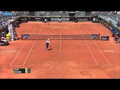 Watch as Vesely combines speed, endurance and placement against #Nishikori in this hot shot from Rome