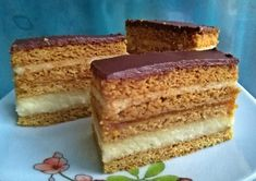 Érdekel a receptje? Kattints a képre! Torte Cake, Vanilla Cake, Food And Drink, Sweets, Cookies, Ethnic Recipes, Layer Cakes, Backen, Vanilla Sponge Cake