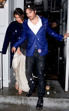 Nikki Reed & Ian Somerhalder from The Big Picture: Today's Hot Pics   E! Online