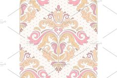 Damask Patterns, Arabesque, Vector Pattern, Abstract Backgrounds, Oriental, Floral, Cards, Flowers, Maps
