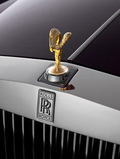 Gold Rolls Royce
