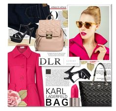 """""""DLRBOUTIQUE.COM KARL LAGERFELD BAG"""" by gorgeautiful ❤ liked on Polyvore featuring Karl Lagerfeld, RED Valentino, American Eagle Outfitters, Yves Saint Laurent, Urban Decay, Victoria Beckham, StreetStyle, springfashion and handbags"""