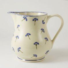 Brixton Pottery Cornflower Jug - £21.99