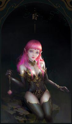 Elves, Wands, Fantasy Art, Game Of Thrones Characters, Wonder Woman, Memories, Superhero, Illustration, Artist