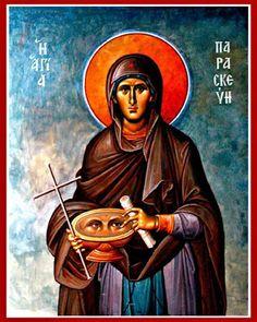 Πνευματικοί Λόγοι: Η Αγία Παρασκευή η Οσιοπαρθενομάρτυς (26 Ιουλίου)