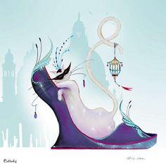 Marilyn Robertson Cleo 14 x 14 Kunstkarte - Kaufen bei Arsani AG