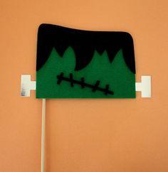 Frankenstein on a Stick. $7.95, via Etsy.