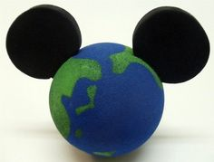 Disney Mickey Mouse Earth Mickey Antenna Topper
