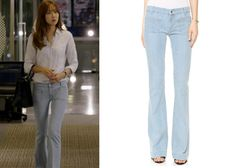 "Gong Hyo-Jin 공효진 in ""It's Okay, That's Love"" Episode 11. Seafarer Penelope Flare Jeans #Kdrama #ItsOkayThatsLove 괜찮아, 사랑이야 #GongHyoJin"