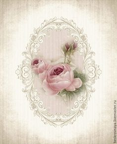 """A WhimsyDust Affair """"Vintage Rose Print by A WhimsyDust Affair"""", """"A WhimsyDust Affair.Really soft pink roses"""", """"A WhimsyDust Affair Aunt IlaVere woul Decoupage Vintage, Vintage Diy, Vintage Labels, Vintage Ephemera, Vintage Cards, Vintage Paper, Vintage Jewelry, Images Vintage, Vintage Pictures"""