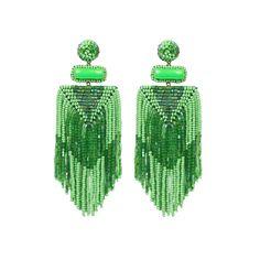 Jody Earrings - Green #shopceladon