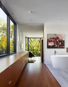 Cedarvale Ravine House at Toronto, Canada by Drew Mandel Architects