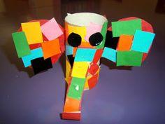 Προσχολική Παρεούλα : Χρώματα παντού ... ( με αφορμή το παραμύθι του Έλμερ ) Mondrian, Cube, Fairy Tales, Toys, Blog, Activities, Blue Prints, Activity Toys, Clearance Toys