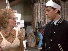 Dody Goodman, Tom Hanks in Splash Asking Mrs.Stimler why she put her bra out of her dress. Funny Movie Lines, Funny Movies, Great Movies, Ripley Believe It Or Not, The Minotaur, Tom Hanks, Nicki Minaj, New Look, Toms