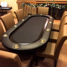 Elite Poker Table More, - Aufenthaltsraum 17 Kpop, Texas Poker, Gamble House, Gambling Machines, Gambling Games, Video Games For Kids, Poker Chips, Casino Theme Parties, Man Cave