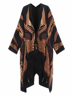 Kimono floreale Gucci