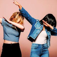 Camila Mendes & Lili Reinhart photographed by Aimee Nicolas, 2017