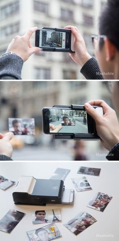 The Prynt Case prints off augmented reality photos