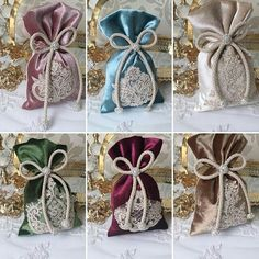 Alıntı.. Wedding Favor Bags, Wedding Candy, Wedding Gifts, Hobbies And Crafts, Diy Crafts To Sell, Bohemian Wedding Decorations, Ramadan Gifts, Scented Sachets, Lavender Bags