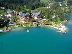 Ab an den See - Hotel Stadler Seegasthof Das Hotel, Luxury, Outdoor Decor, Travel, Den, Beach, Family Vacations, Road Trip Destinations, Majorca