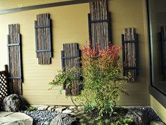 bamboo fences ideas pictures | design bamboo fence surrounds a japanese garden bamboo fencing ...