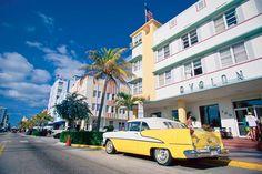 Vintage Art Deco buildings | IKON. Art deco og pasteller - det luksuriøse boutique-hotel, The ...