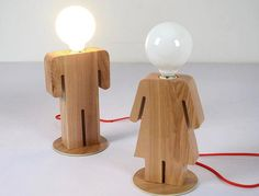 Handcrafted Wooden original Boy and Girl desk lamp Decorativ.- Handcrafted Wooden original Boy and Girl desk lamp Decorative lamp Night lamp Solid Wood lamp Vintage Decorative lamp Handcrafted Wooden original Boy and Girl desk lamp by EKfly - Girl Desk, Farmhouse Lamps, Lampe Decoration, Wood Lamps, Night Lamps, Lamp Design, Wood Colors, Handmade Wooden, Desk Lamp