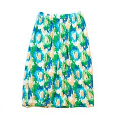Girls' Full Length Maxi Skirt (Argyle - 2) Girl's