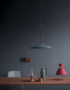 Ginko pendant light from Örsjö looks great in this image by Beppe Brancato|Photographer - Gorgeous subdues matte colors.