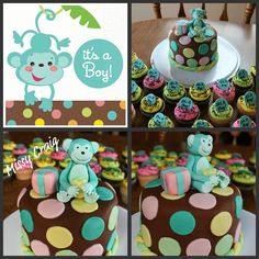 Baby shower!! This was the theme Tamsen picked for Seth's shower! SOO Cute! Comes in girl too! Loveeee it !!!