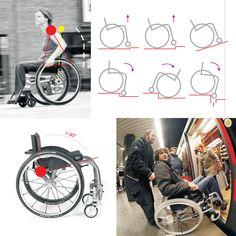 CZ Seiza je polohovací invalidní vozík pro aktivní život, ocenený nekolika prestižními cenami. Je inspirovaný tradicní japonskou klecící polohou a hlavním cílem je poukázat na soucasné problémy mechan... Manual Wheelchair, Web Design, Cool Stuff, The Originals, Objects, Draw, Fashion, Chairs, Cool Things