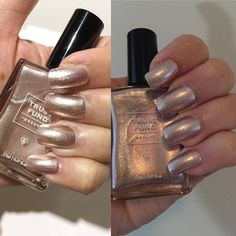 With or without light this is your time to shine! This polish is from @trustfundbeauty in Champagne Socialite and it came with my @glossybox_us holiday limited edition!  Esta e uma marca bova de esmalte - Trust Fund Beauty - na cor Champagne Socialite! Um luxo ne? #notd #nails #nailswag #metallicnails #trustfundbeauty #nailpolish #nailpolishaddict #nailpolishjunkie #polishgirl #unhas #unhadodia #unhadasemana #esmalte #esmatedodia #esmaltedourado #beautyblogger #Glossybox