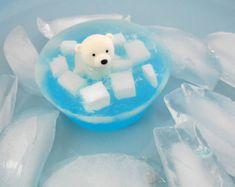 Polar Bear On Ice Soap - Stocking Stuffer, Mothers Day Gift