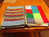 Doris made small Kennel Quilts for animal shelters.