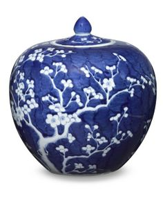 InStyle-Decor.com Beverly Hills Chinese Jingdezhen Blue and White Porcelain…