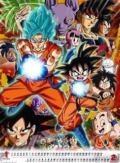La vida de Goku